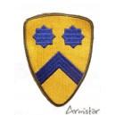 Patch US 2ème Division de Cavalerie WW2