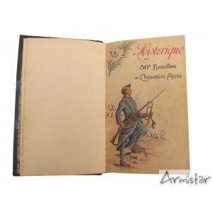 https://www.armistar.com/649-2401-thickbox/historique-30-eme-bataillon-de-chasseurs-alpins-ww1.jpg