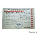 Ausweis Armée Allemande  Paris 1941