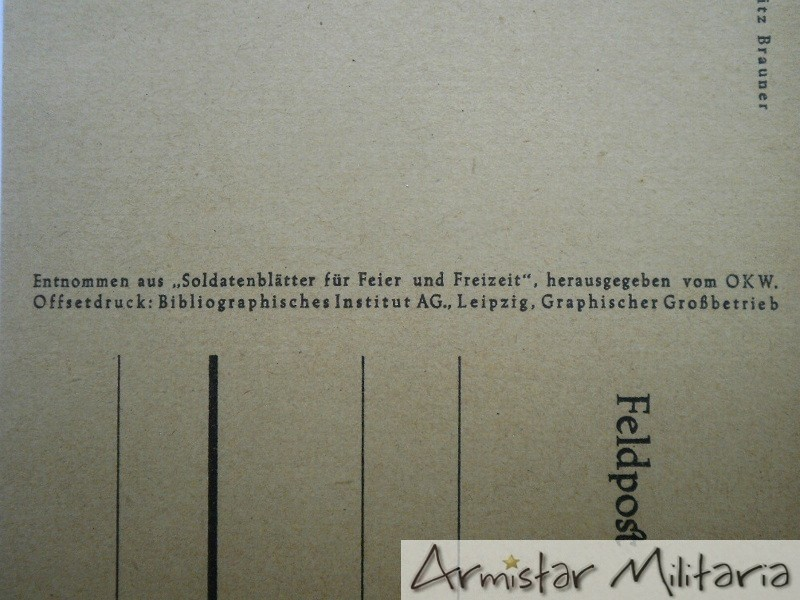 Carte Allemande Ww2.Carte Postale Panzer Allemand Ww2 Armistar Militaria