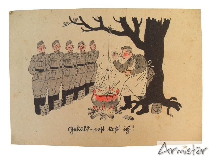 carte postale humoristique allemande ww2 armistar militaria. Black Bedroom Furniture Sets. Home Design Ideas