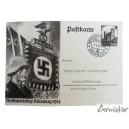 Carte Postale Propangande Allemande Nurember 1934