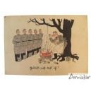 Carte Postale Humoristique Allemande  WW2