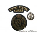 Ensemble Insignes  Pilote Royal Flying Corps WW1